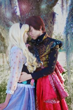 Prince Phillip and Briar Rose Cosplay by DuysPhotoShoots