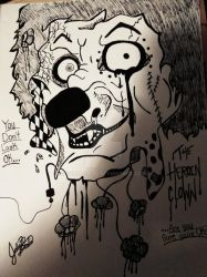 Heroin Clown (Addicted To The Medicine) by SkramzGirl
