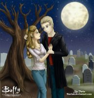 Buffy and Spike, Its only love by 9Taria6