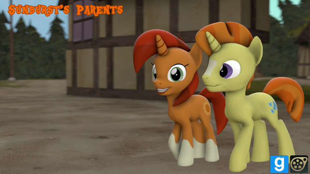 [DL] Sunburst's Parents by MythicSpeed