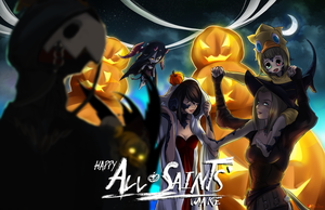 FFXIV Fanart Commission : Happy All Saint's Wake by Milee-Design