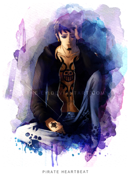 Lost Hope | Trafalgar D. Water Law by The-Ly
