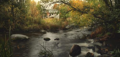 House by the river IV by Pajunen