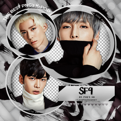 PACK PNG #1O | SF9 by iAllNightBaby