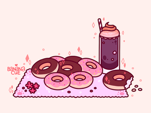 Donut Meal by banana-cue