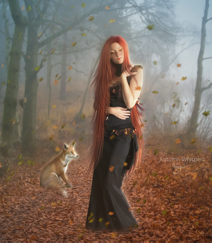 Autumn Whispers by Marjie79