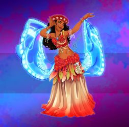 Disney Belly Dancers: How Far I'll go by Blatterbury