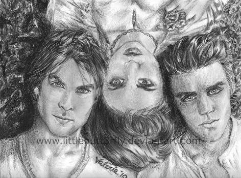The Vampire Diaries by littlebutt3rfly