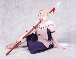 San cosplay revamp with spear by MissRaptor