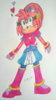 Amy Rose - Biko97's Design by ClaireAimee