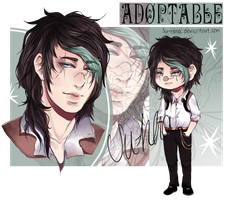 [CLOSED] Delinquent Adoptable ~AUCTION~ by Su-Hena