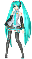 [MMD] Project DIVA Colorful Tone Default Miku by ROKI-P