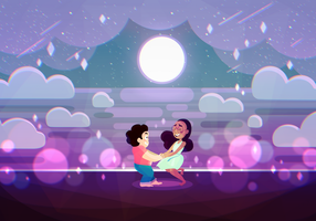 Alone Together|Steven n Connie Steven Universe by kyasarinnlove