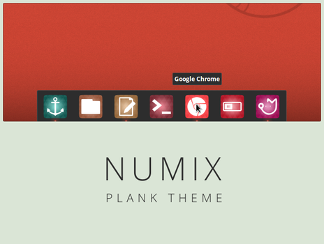 Numix theme for Plank by me4oslav