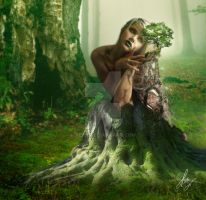 Gaia: Mother Earth by Tebh