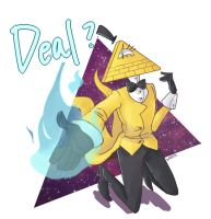 Bill Cipher by kartaZene