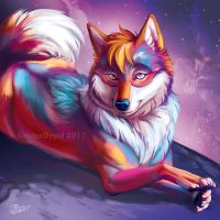 Spacy Sparkle Dag - SpeedPaint by GoldenDruid