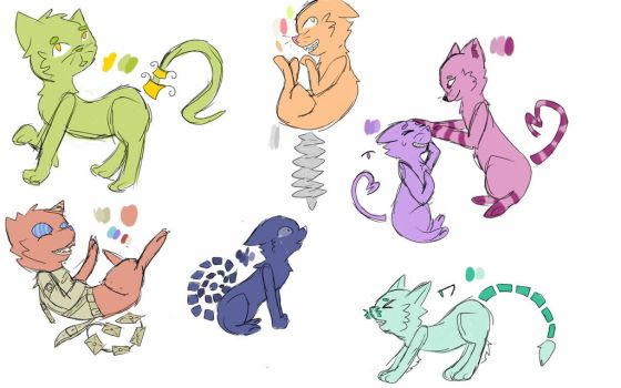 Free adopts by MacabreOrphanage
