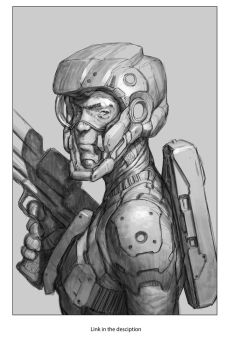 Futuristic soldier by JesusAConde