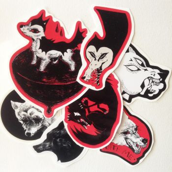 my store has stickers :0 (2 left!!) by babezord