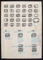 Brumian  logographic Glyphs by LaughtonMcCry