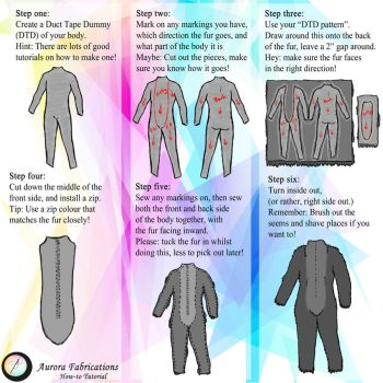 Fursuit Body Tutorial by Aurora-Fabrications