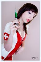 Mademoiselle Ilo - Nurse latex uniform - Model Sta by Mademoiselle-Ilo