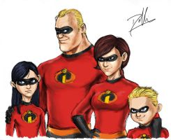 The Incredibles by DHK88