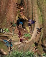 Faeries by Colliemom