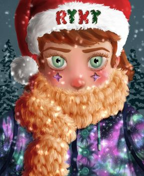 Christmas Coloring Contest By Ryky by Green-Blooded