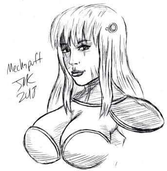 Mechapuff #2 by HarakiriArtist by ppgrainbow