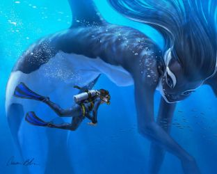 #MerMay Orca by ablaise