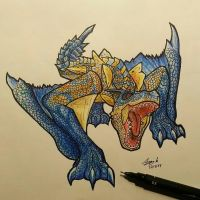 Grimclaw Tigrex by Musimoo