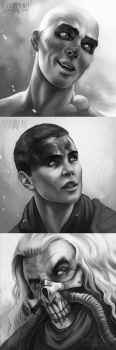 Mad Max Portraits by FlyQueen