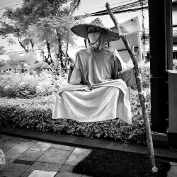 Flying Monk infrared by MichiLauke