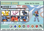 My Pokemon trainer card by lightyearpig