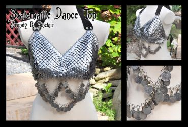 Scalemaille Top by crazed-fangirl