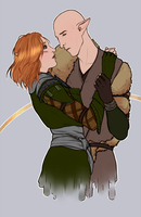 DAI: Don't Go {Solavellan} [Commission] by LadyTheirin