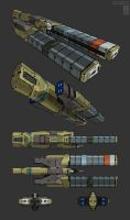 Heavy Cargo Conveyor by Tekka-Croe