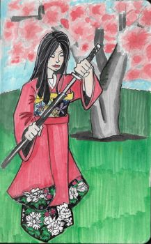 The Blossom and the Blade by BasicRowan