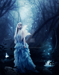 Goddess of the forest by tryskell