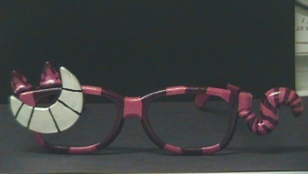 Cheshire Cat glasses by SnowPuppy05