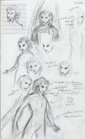 Ishar Concept: Faces by DreamingFoxfire