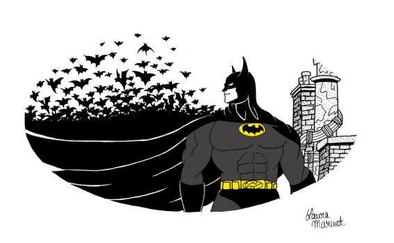 Batman by lauramarcuet