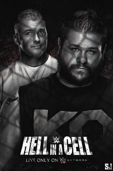 Hell in a cell 2017 poster by Sjstyles316
