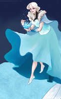 The Ice Queen by kemiobsesses