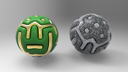 Simple Armored Ball 1 by Tate27kh