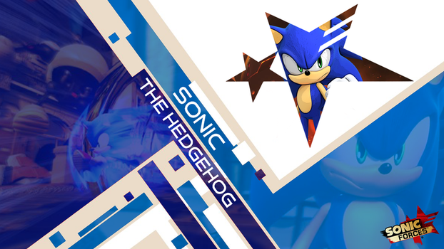 Sonic The Hedgehog (Forces Wallpaper) by CosmicBlaster97