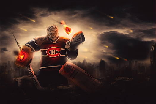 Carey Price, Saviour of all. by FlyingGinger