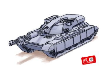 1970's tank concept by cthelmax